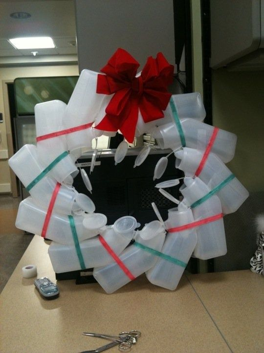 Top 5 holiday nurse wreaths for Funny diy christmas decorations